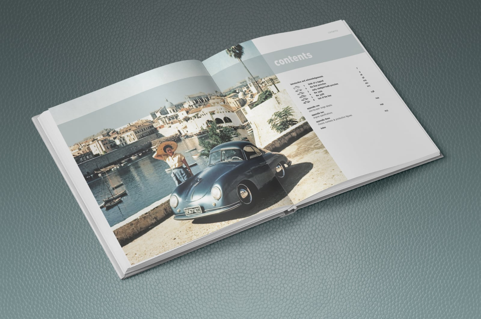 The Ultimate Book of the Porsche 356 spread sample
